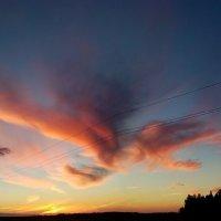 красивый закат :: Дмитрий Дербенев