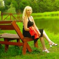 У деревенского пруда :: Олег Каплун