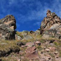 Загадочные камни Эльбруса, результаты извержения вулкана. :: Vladimir 070549