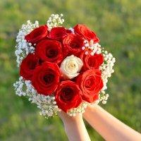 Букетик невесты...на 10 лет свадьбы! :: Марина Романова