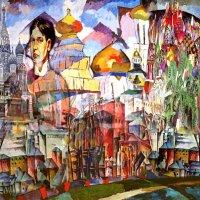 Москва Аристарха Лентулова :: Светлана Щербакова