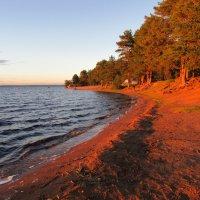 Пляж «Зелёная гора» в лучах заката :: genar-58 '