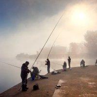 Рыбаки на Неве :: Владимир Миронов