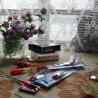Кому лютики-цветочки, кому блёсны и крючочки))) :: veilins veilins