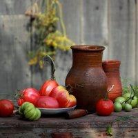 С  помидорами (фото 2) :: Наталья Казанцева