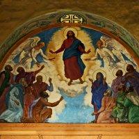 Вознесение Господне, роспись над западным входом :: Александр Качалин