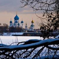 Николо-Перервинский монастырь, вид с Москва-реки :: Владимир Брагилевский