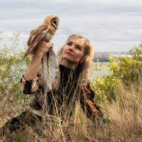 Девушка с совой :: Anton Shumaev