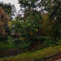 Осень у скверика :: Юрий