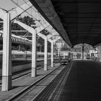 На вокзале :: Elena Ignatova