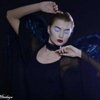 Черный ангел :: Yelena LUCHitskaya