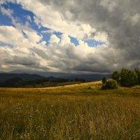И луч дневной, горит в горах на рёбрах туч 9 :: Сергей Жуков