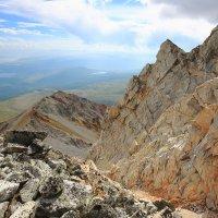 Монголия, с трека на гору Мунку-Сардык :: Владимир Кузьмищев
