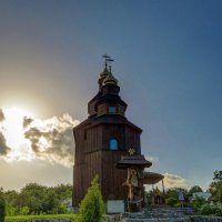 Церковь с Буда. :: Сергей Титаренко
