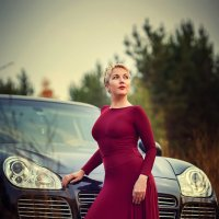 У королевы и автомобиль должен быть соответствующий :: Аннета /Анна/ Шу