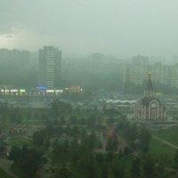 Гроза над городом :: Александр Знаменский