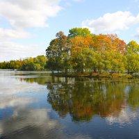 Осенней позднею порою люблю я царскосельский сад....... :: Tatiana Markova