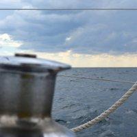 На яхте. Черное море. :: Михаил Поскотинов