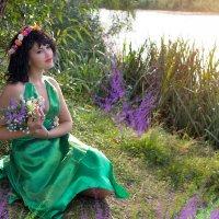 фея цветов... :: Райская птица Бородина