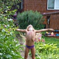 Я наслаждаюсь летом и дождём! :: Ирина Данилова