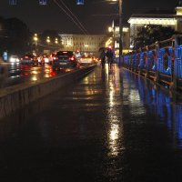 Ночная прогулка. :: Андрей Михайлин