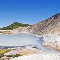 Озеро Кипящее, о. Кунашир, Курильские острова :: Сергей Козинцев