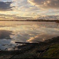 Рассвет на озере. Якутия. :: Ирина Токарева