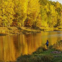Здесь должны водится Золотые рыбки... :: Альмира Юсупова
