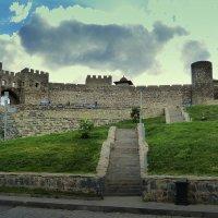 Грузия, крепость Рабат, лестница к главному входу. :: Игорь