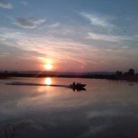 Осенний закат.. :: Надежда Савельева
