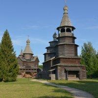 деревянное зодчество :: Андрей Мальков