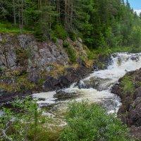 Водопад Кивач.  Карелия. :: Николай