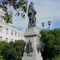Памятник выдающемуся русскому мореплавателю :: Ирина Шурлапова