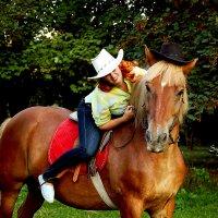 Прогулка с лошадкой :: Светлана Белкина