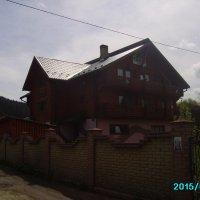 Небольшая  гостиница  в   Ворохте :: Андрей  Васильевич Коляскин