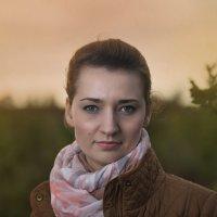 Портрет осенью при закате :: Эрик