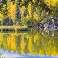 Осеннее отражение... :: игорь козельцев