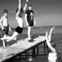 В прыжке.... :: Дмитрий Петренко