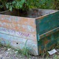 Просто ящик для мусора :: Дмитрий Сиялов