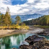 Голубые озера на Катуни :: Галина Шепелева
