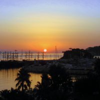 Утро в Турции. :: Мила Бовкун
