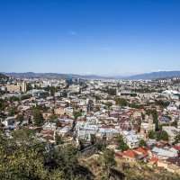 Тбилиси с горы :: Лариса Батурова