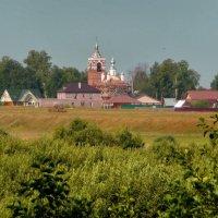Вид из леса на с. Малые Всегодичи! :: Владимир Шошин