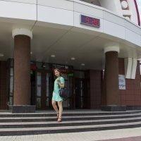 На ступеньках вокзала :: Дима Пискунов