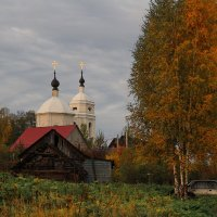 Спасский храм с. Каблуково :: Александр Лукин
