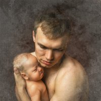 Отец и сын (Father and son) :: Андрей Володин
