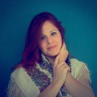 Русский платок- лучшее украшение! :: Елена Бушуева