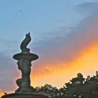 фонтан на закате :: Елена