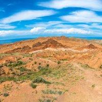"""Панорама каньона """"Сказка"""", Кыргызстан. :: Валерий Смирнов"""
