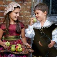 Яблочный спас в Покровское-Стрешнево :: Нина
